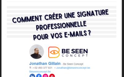 Comment créer une signature professionnelle pour vos e-mails ?